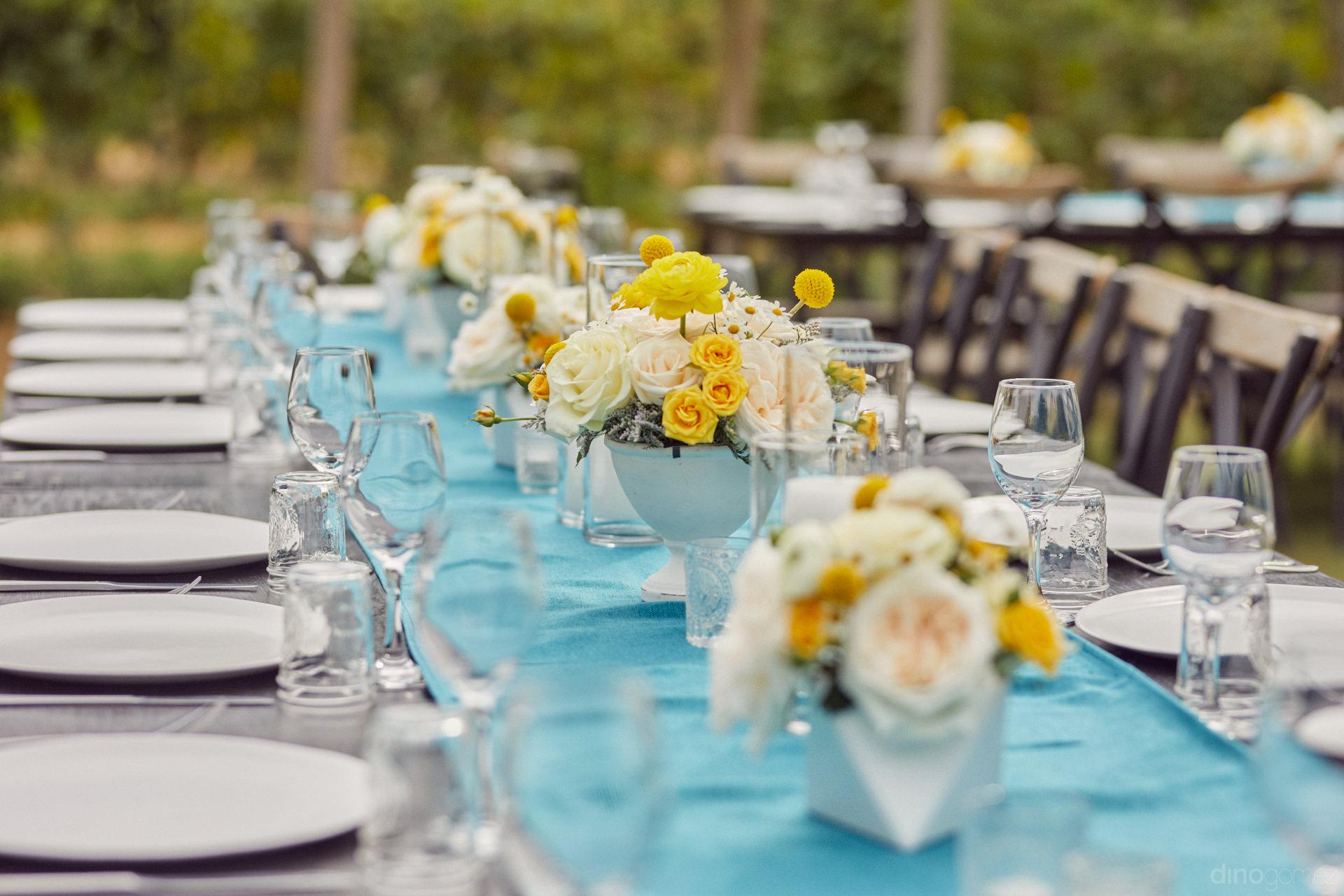 Expert Wedding Decor Companies In Los Cabos - Hilary & Bryan Flora Wedding