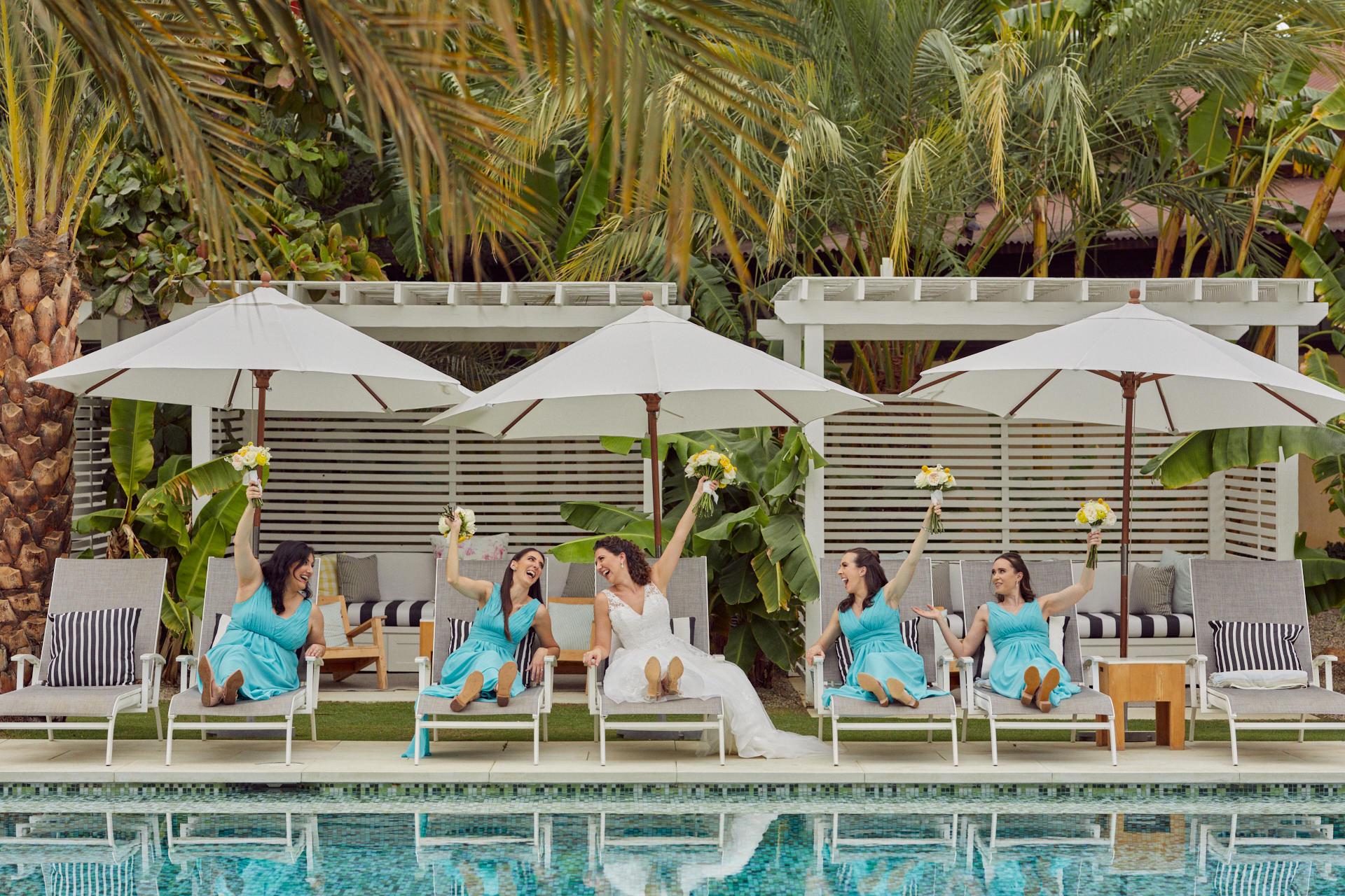 Super Fun Destination Weddings In Cabo Mexico - Hilary & Bryan Flora Wedding
