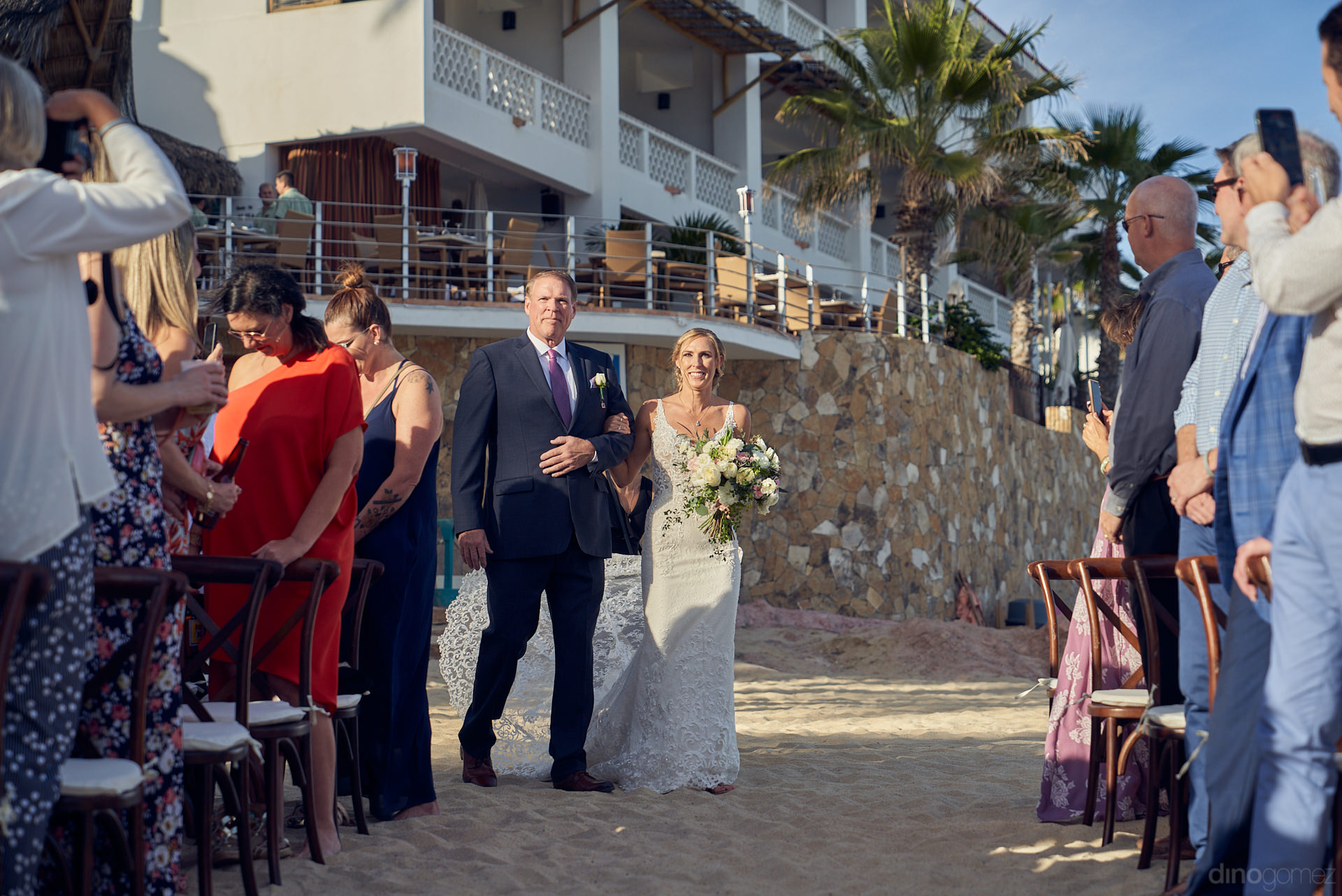 Los Cabos Wedding Photographers Were Surprised In This Wedding - Mm