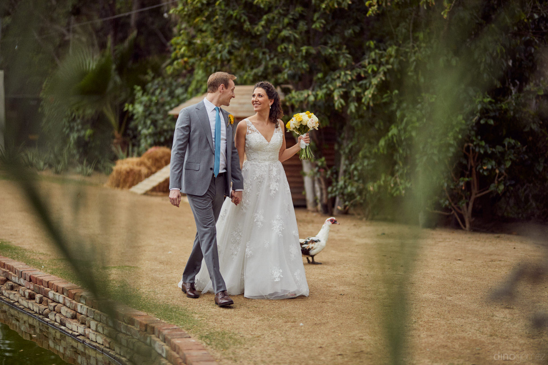San Jose Del Cabo Weddings At Flora Farms - Hilary & Bryan Flora Wedding