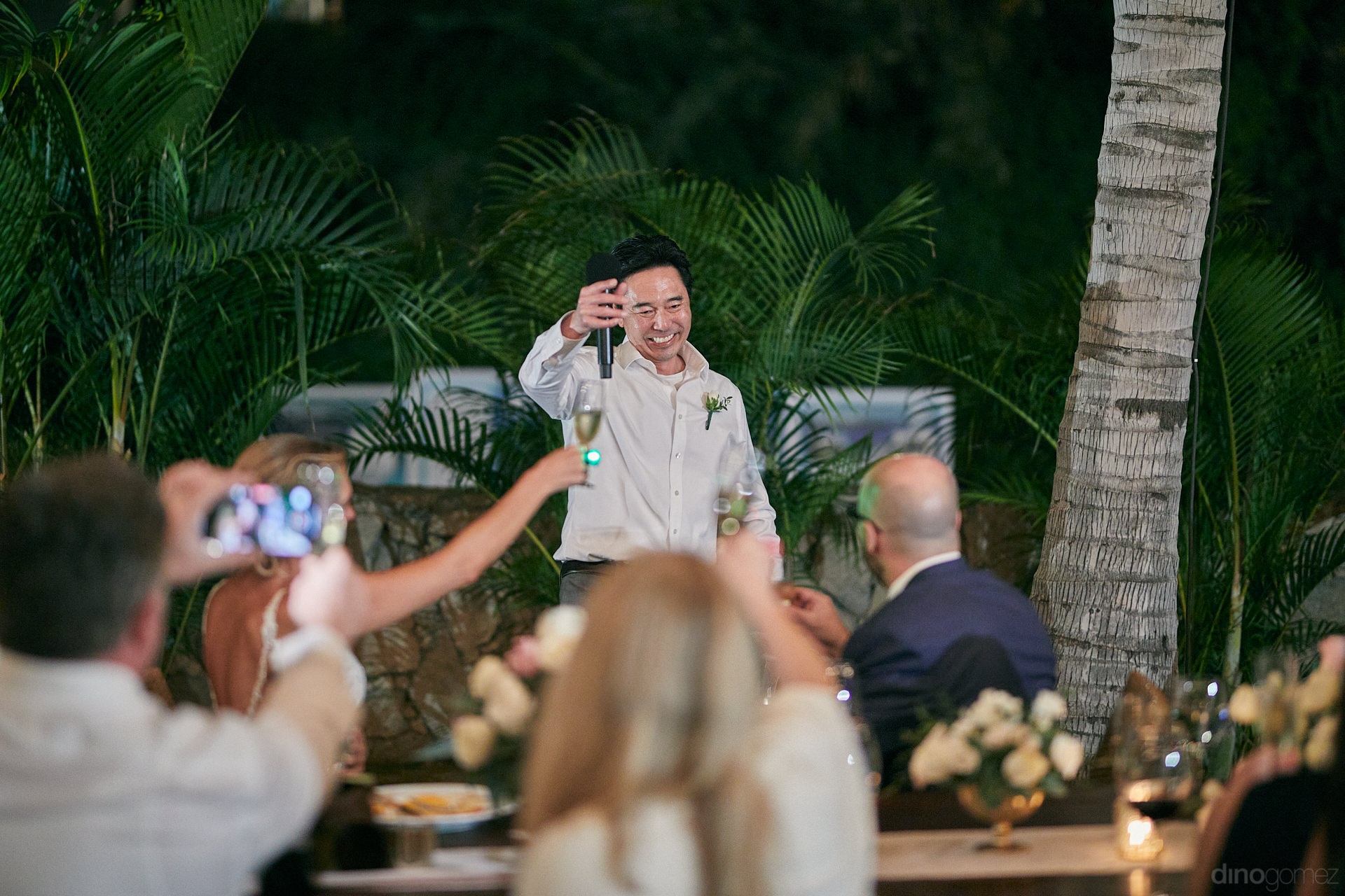 Wedding In Los Cabos At Cabo Surf Hotel Toast