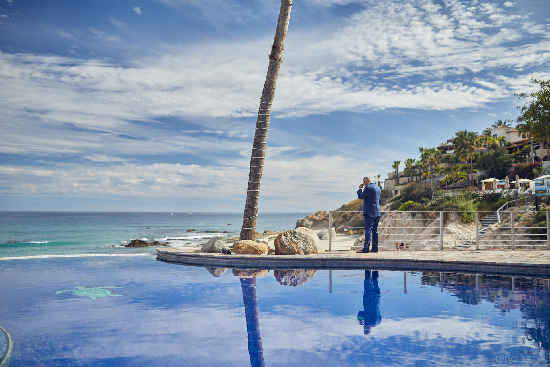 Wedding Photographer In Los Cabos Caught An Unexpected Moment - Mm