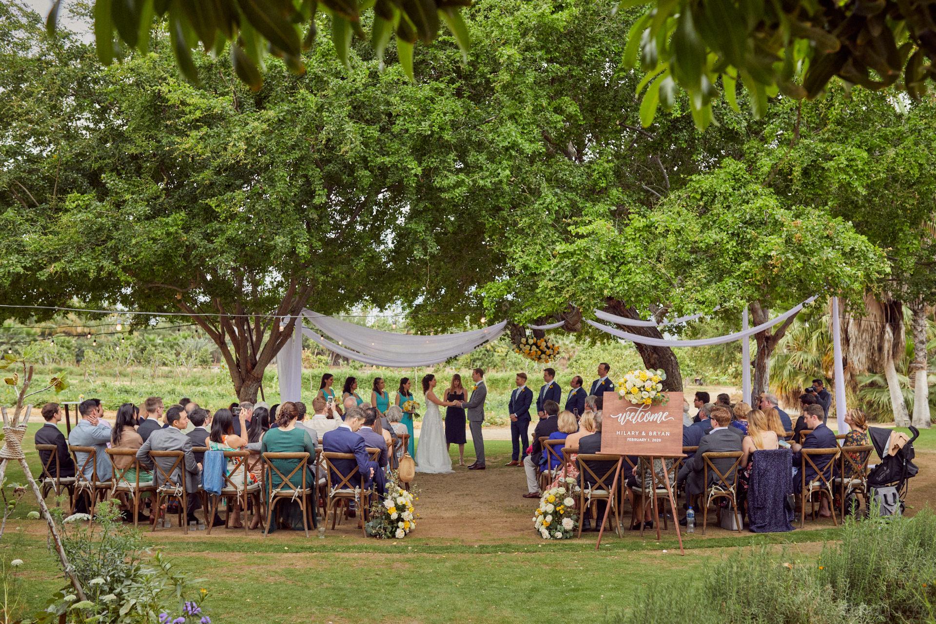 Wedding Resorts In Cabo San Lucas Near Floras Farm - Hilary & Bryan Flora Wedding