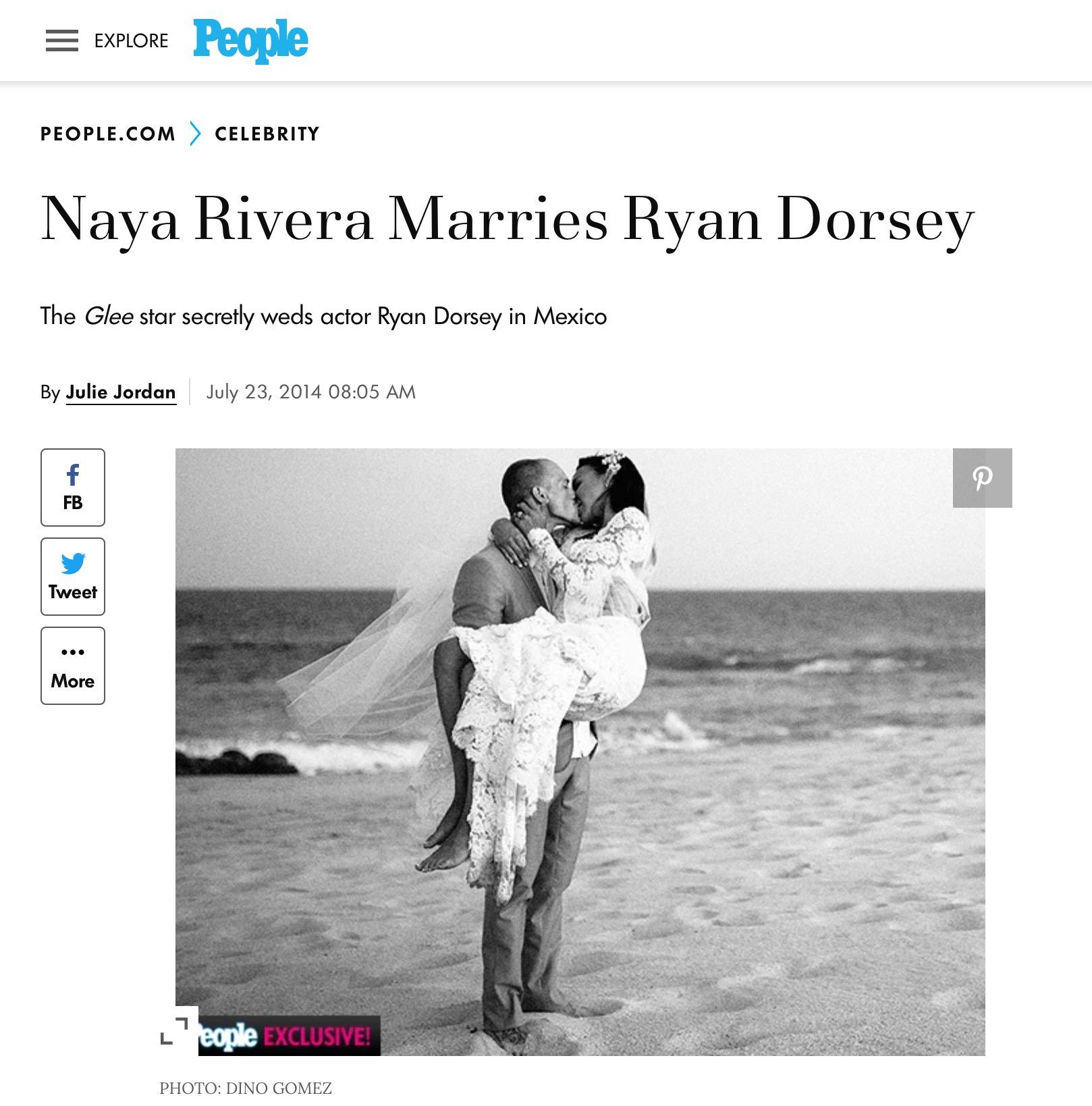 Naya Rivera People Article