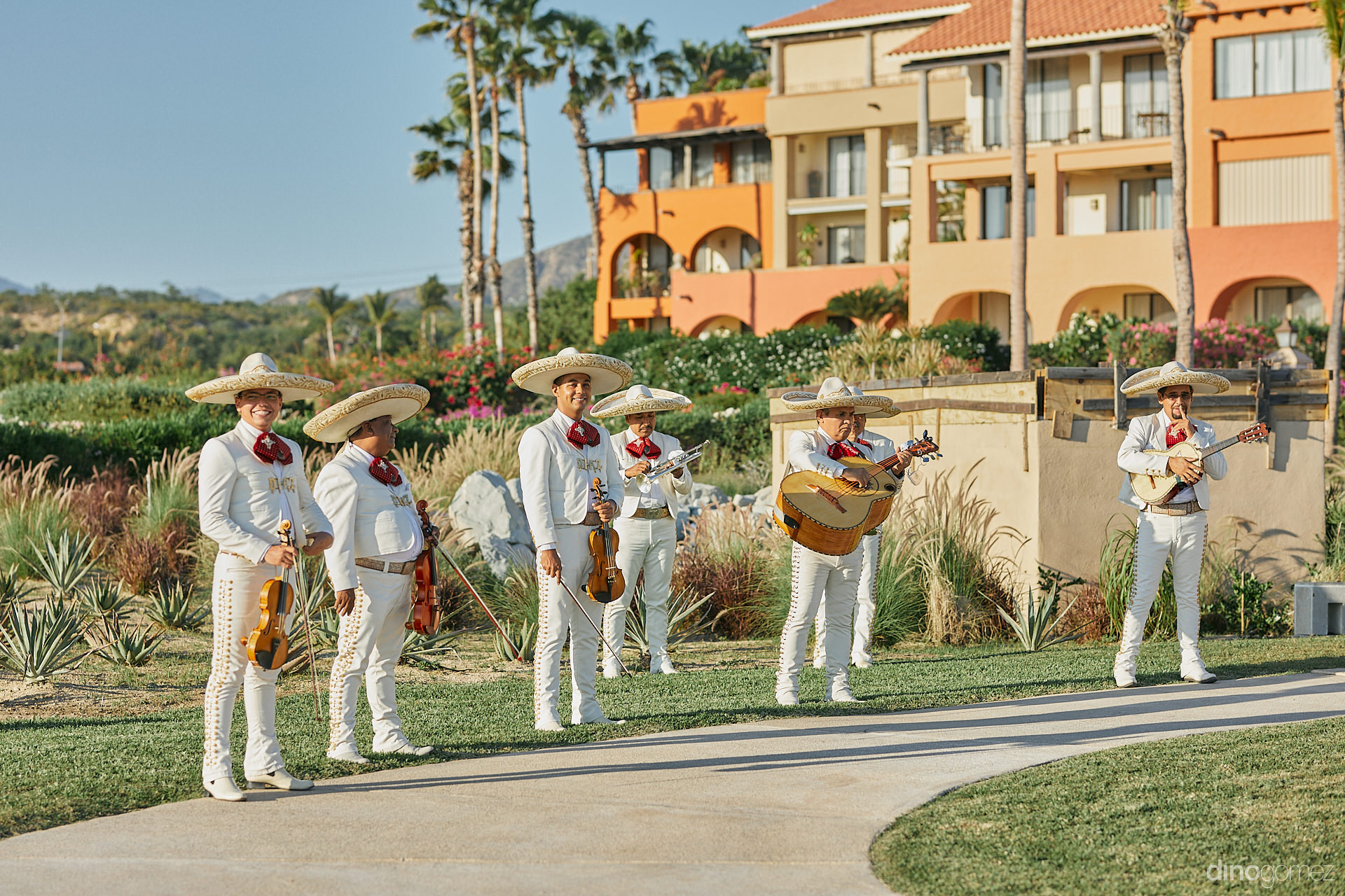 Cabo All Inclusive Wedding - Luxury Wedding Photographer In Cabo Dino Gomez - C&T