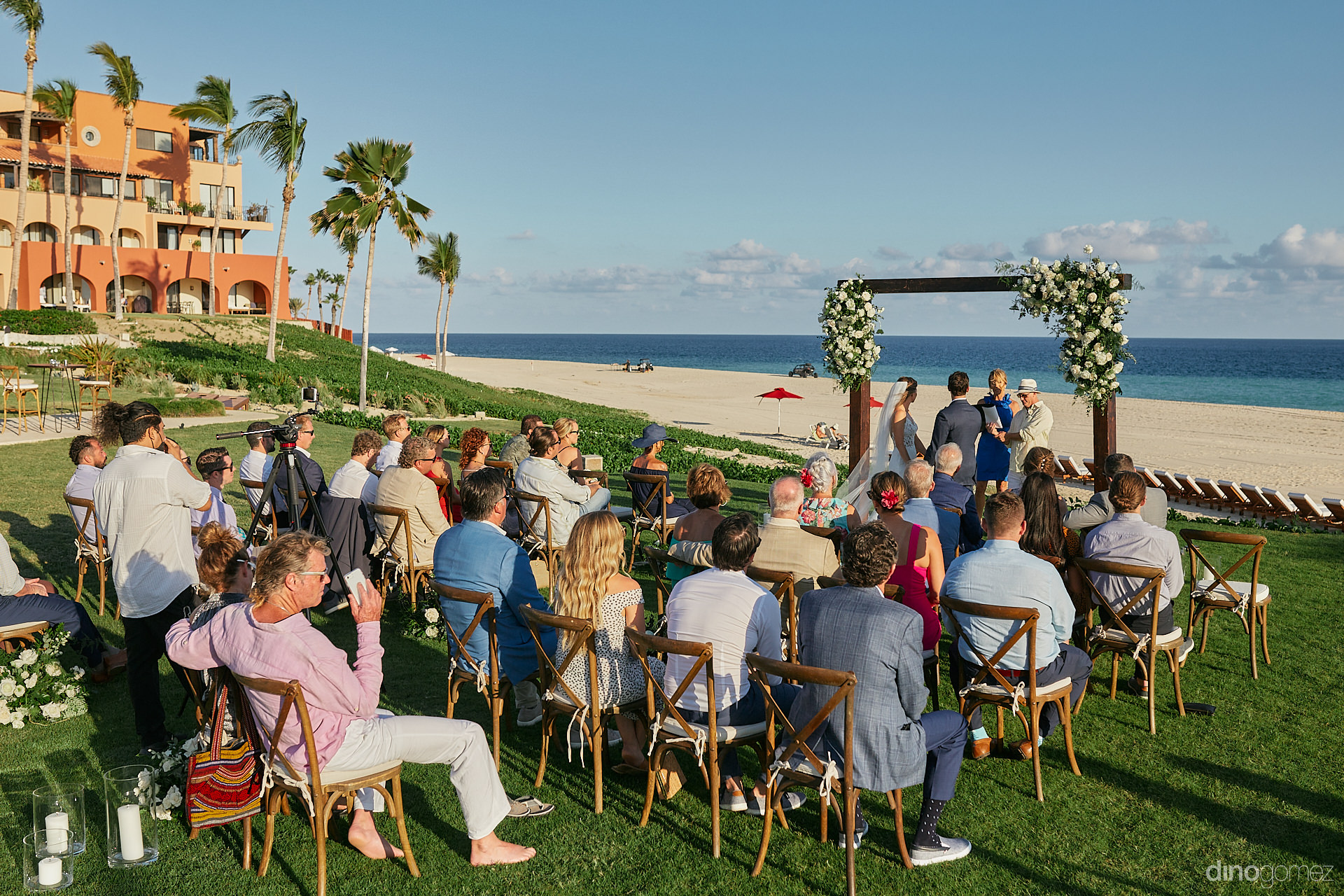 Pueblo Bonito Sunset Beach Wedding - Luxury Wedding Photographer In Cabo Dino Gomez - C&T
