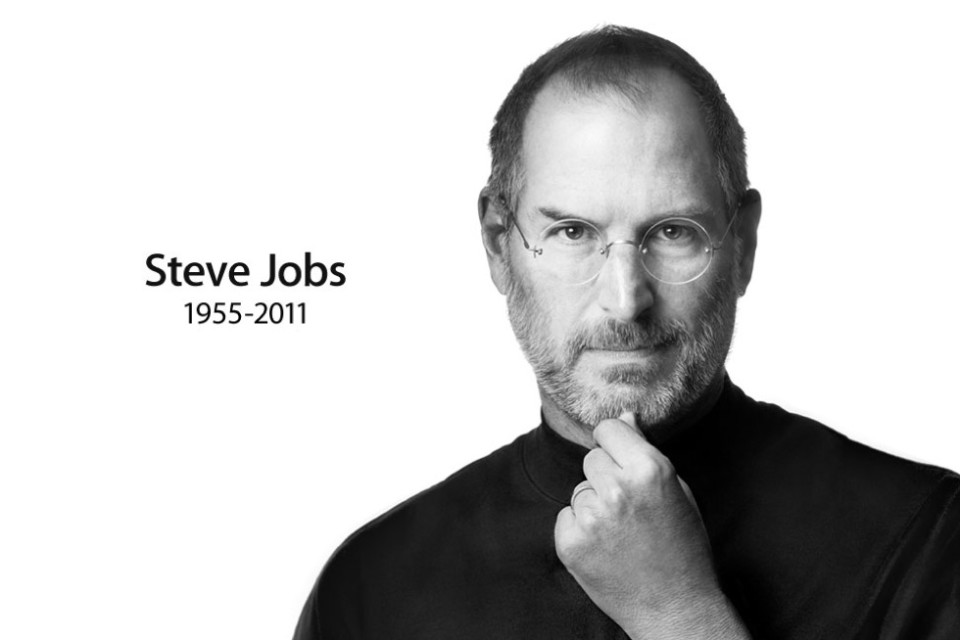 Steve Jobs head shot tribute